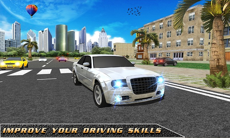 3D School Driving Simulator
