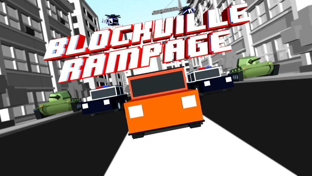 Blockville Rampage - Smmashy Police Chase