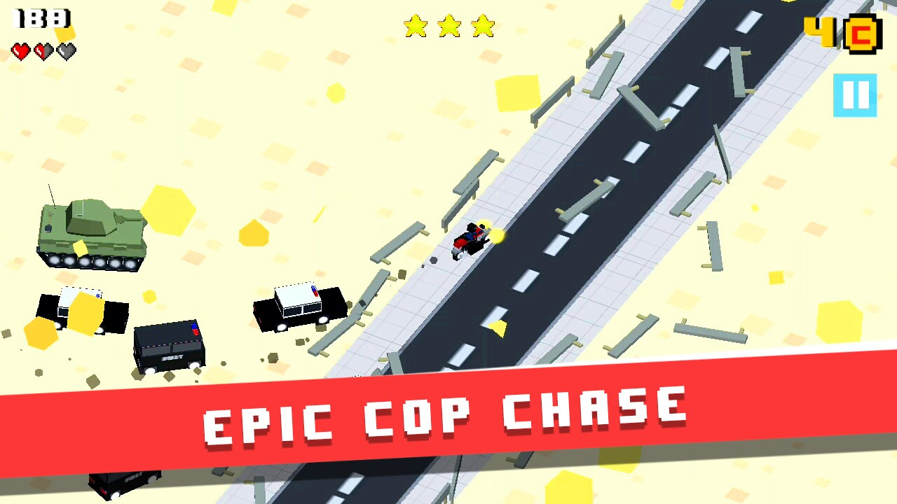 Blockville Rampage - Smmashy Police Chase