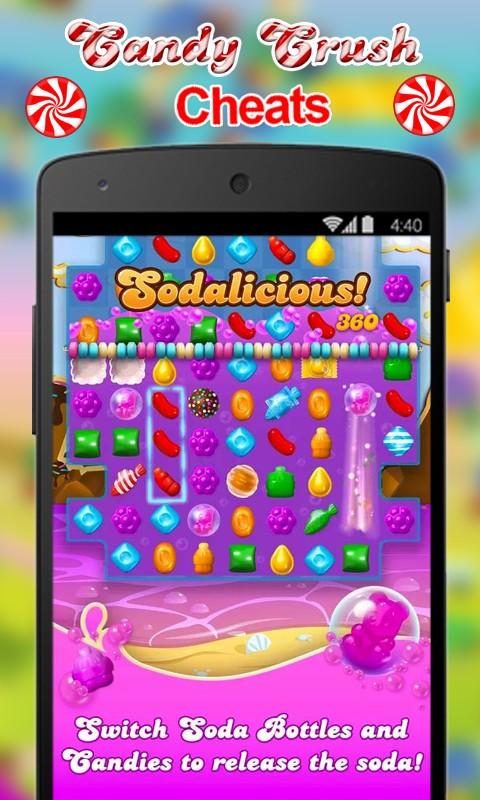 Cheats For Candy Crush Soda Saga