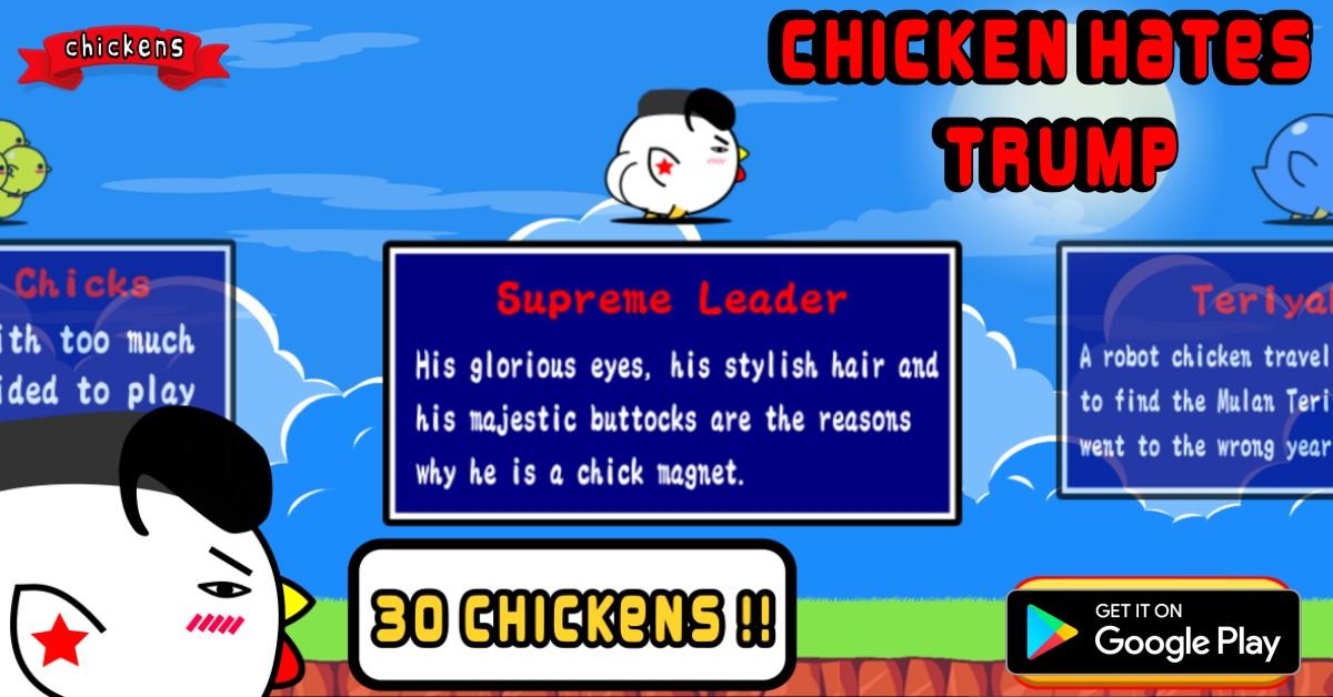 Chicken Hates Trump