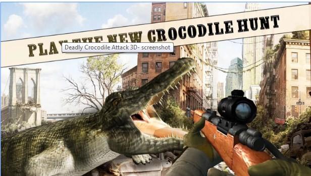 Deadly Crocodile Attack 3D