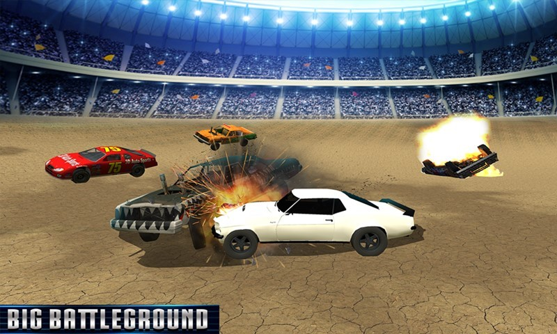 Demolition Derby Cars War