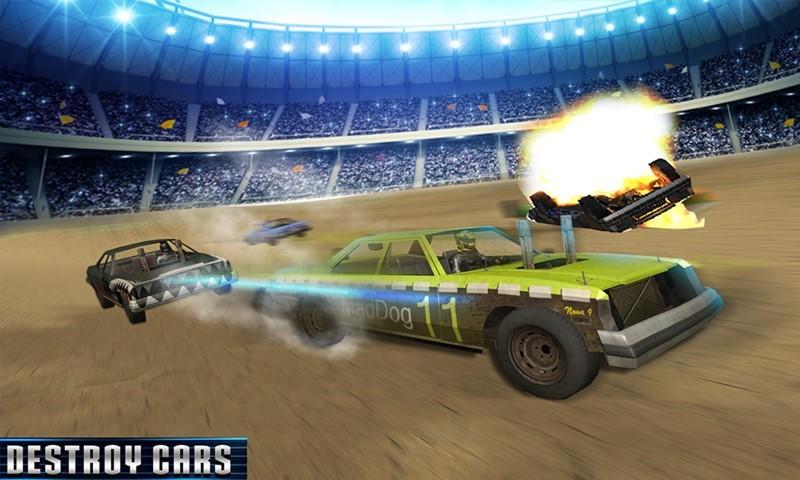 Demolition Derby Cars War