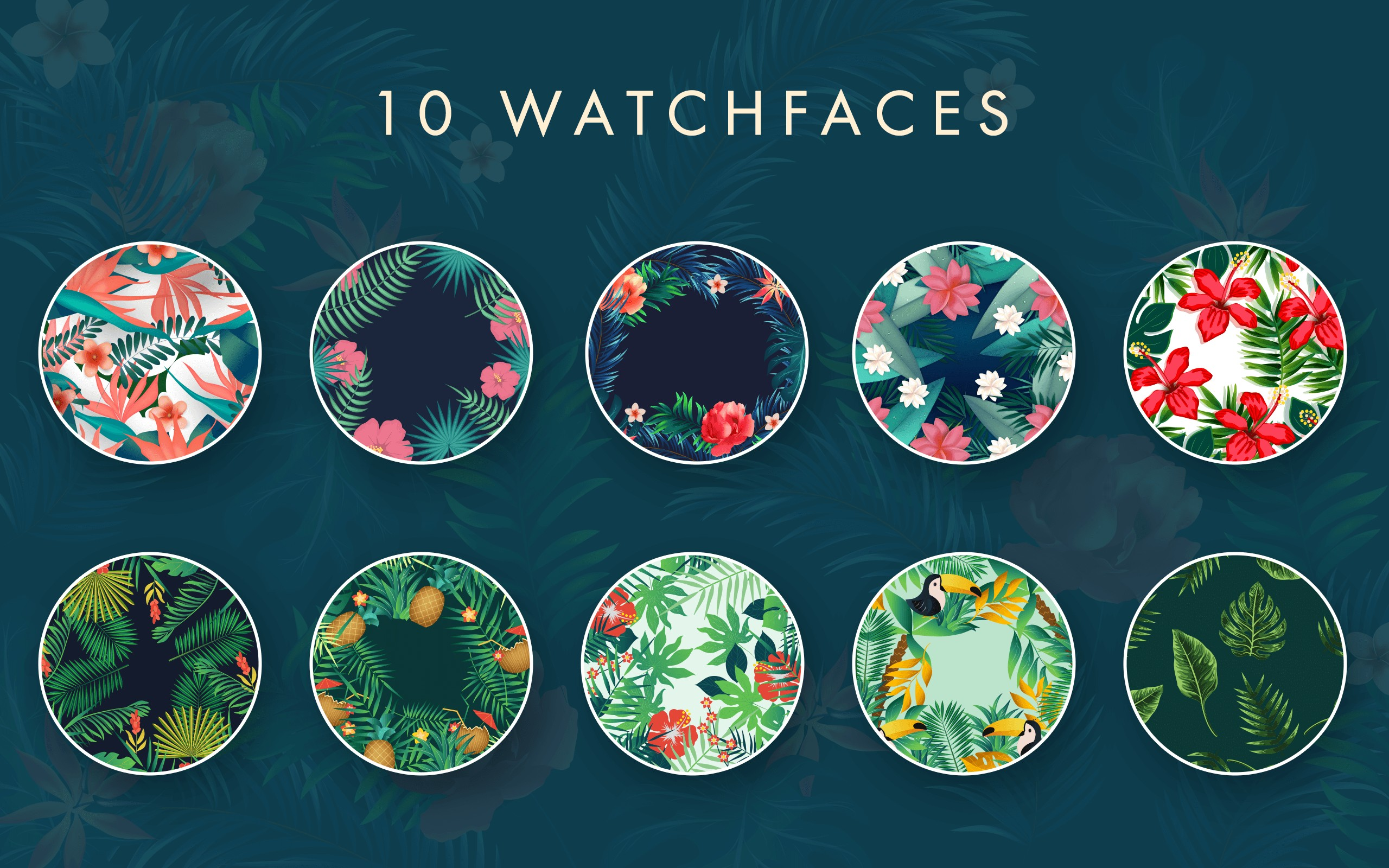 Floral Summer Watch Face