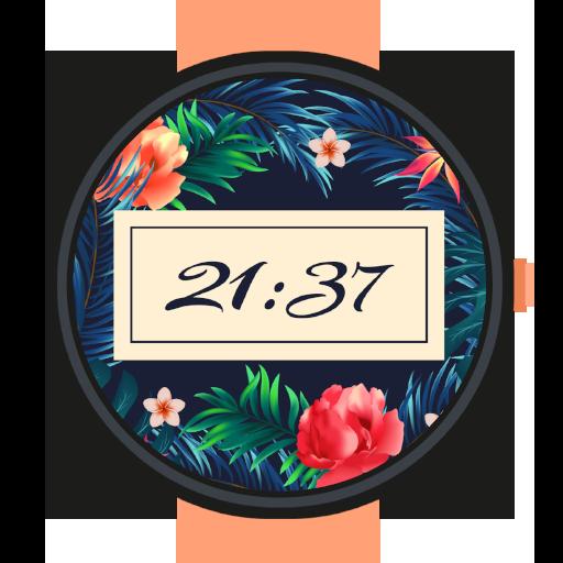 Floral Summer Watch Face