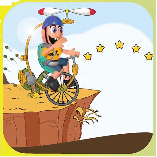 Fly Bike Jeffy Adventure