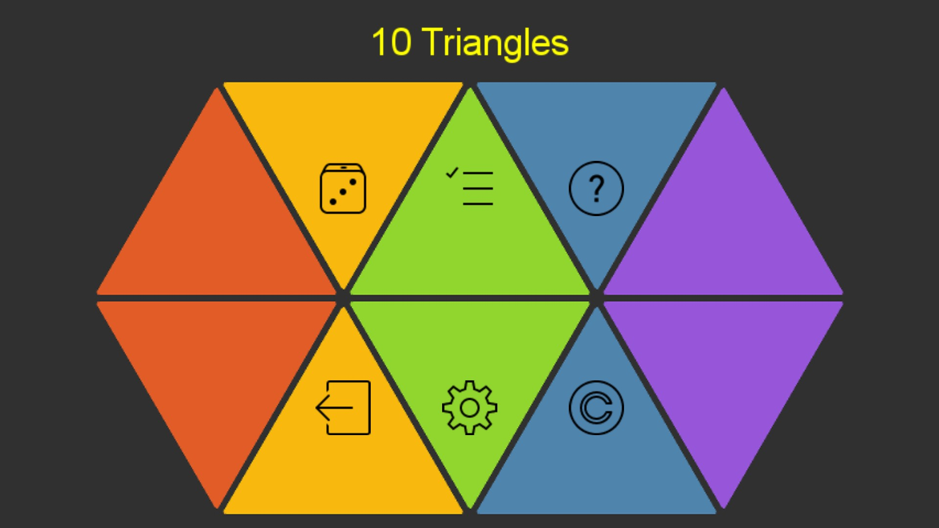 Ten Triangles