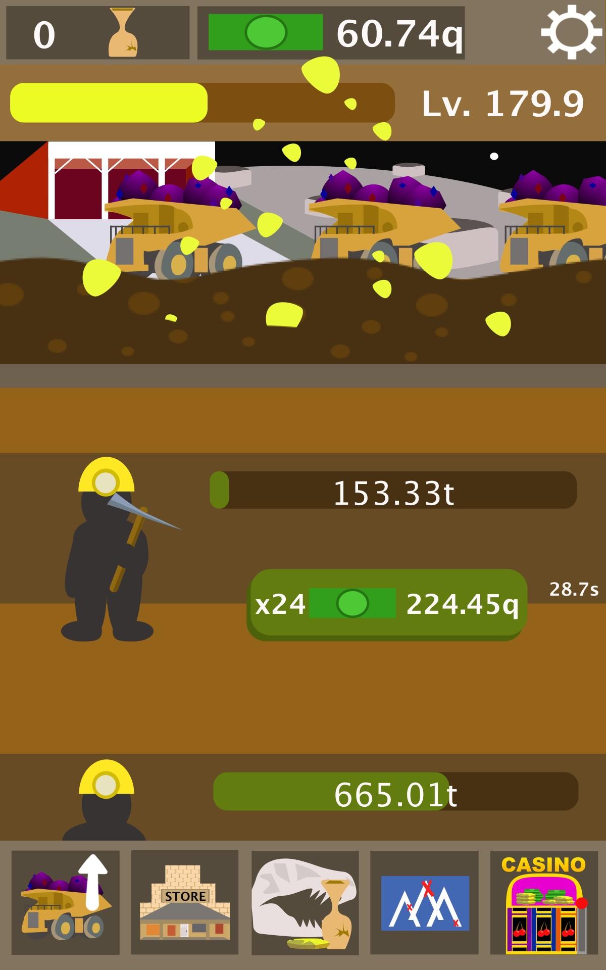 Mining Mountain - Idle Clicker