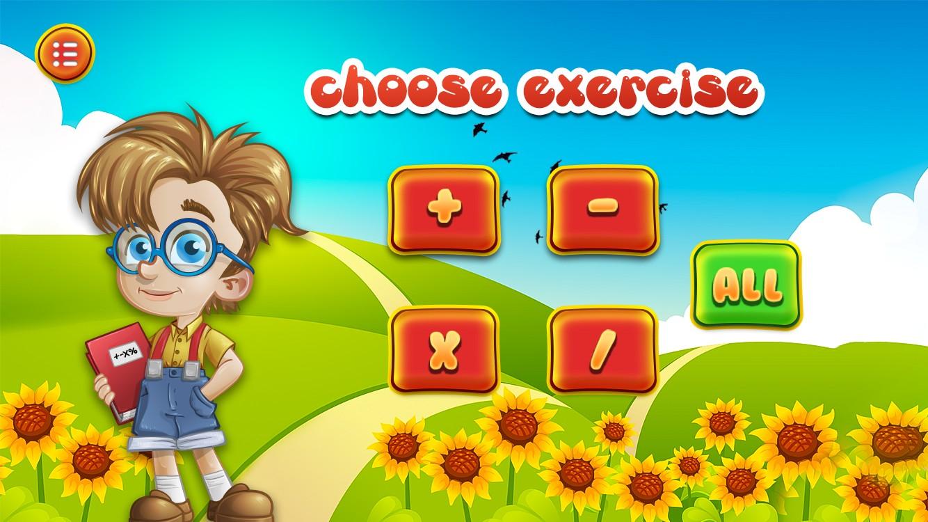 Preschool & Kindergarten Math learning game