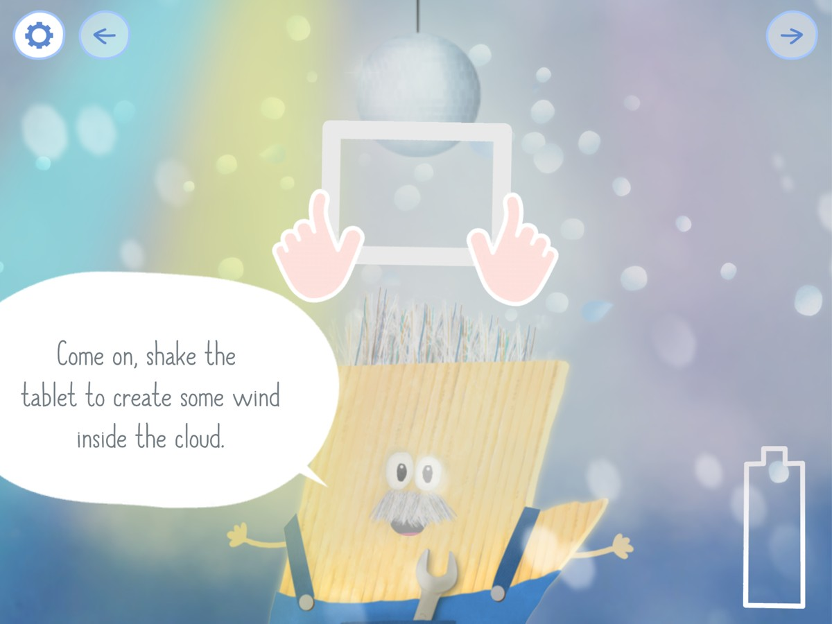 Rudi Rainbow: Weather-Learning and Mini Games