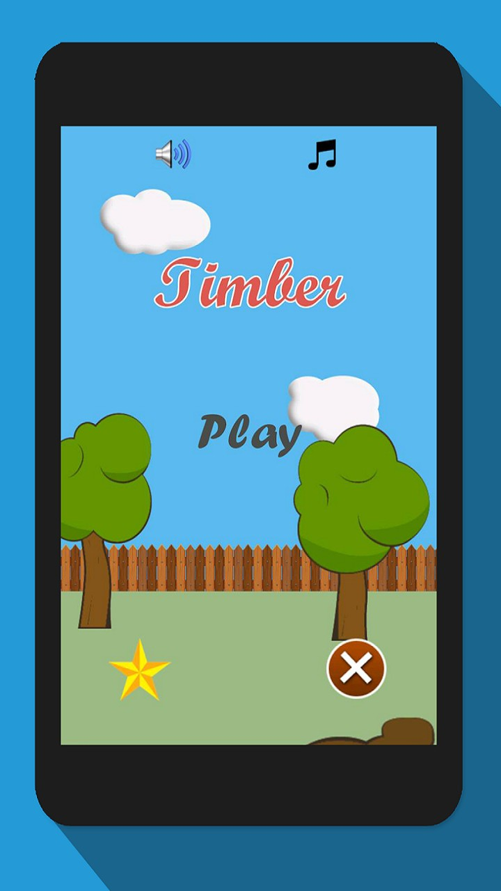 Timberman, Wood Chopping Fun Advernture Game