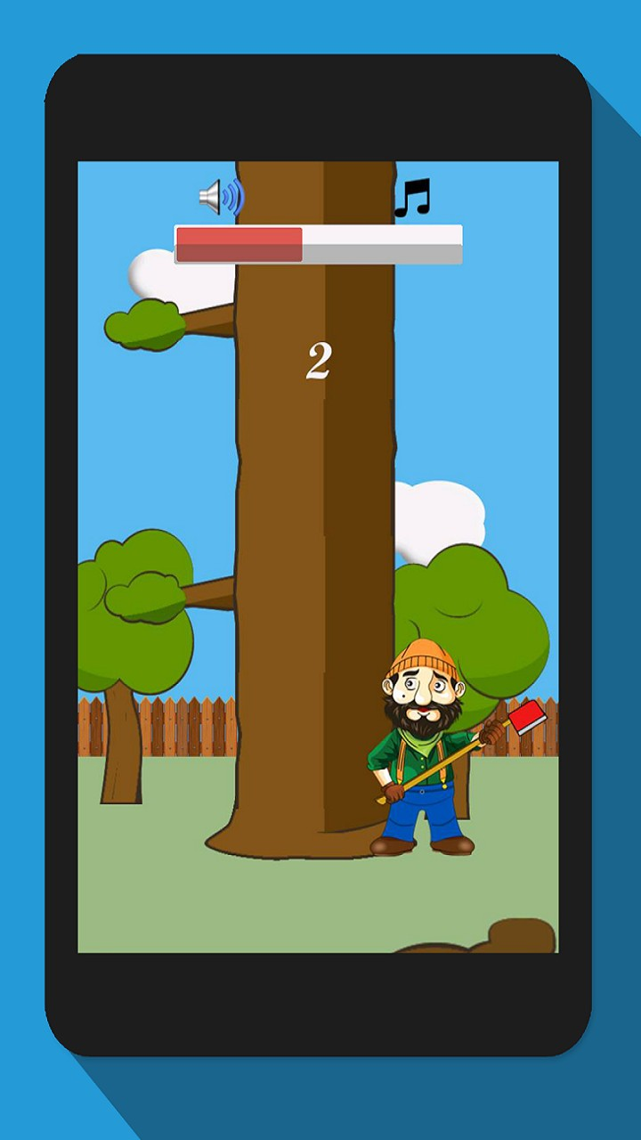 Timberman, Wood Chopping Fun Advernture Game