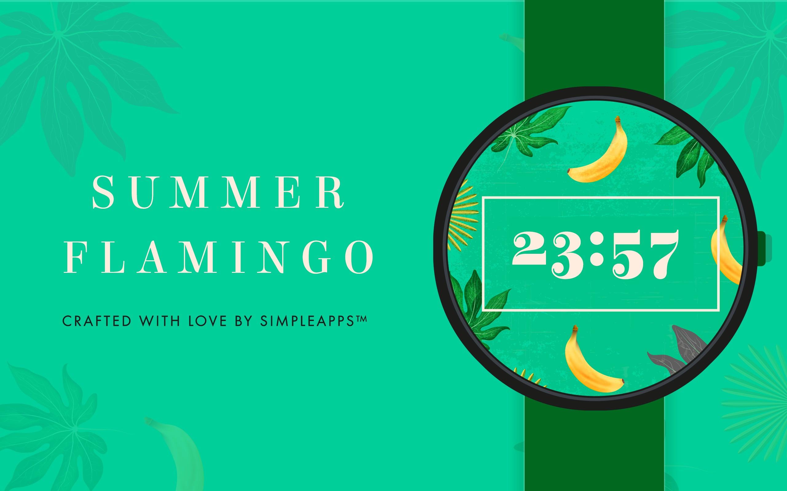 Tropical Summer Watch Face