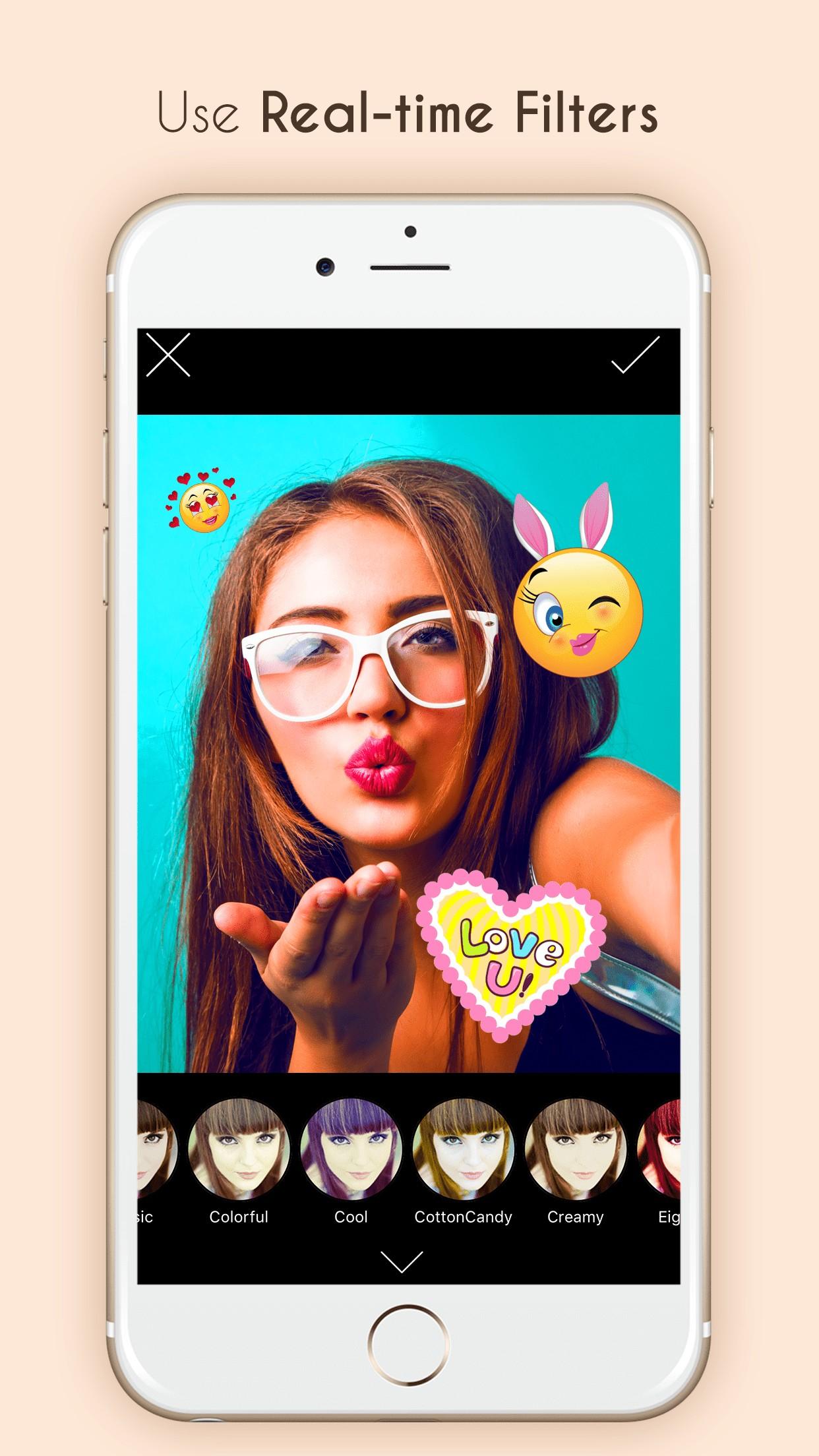 B812 Selfie Editor