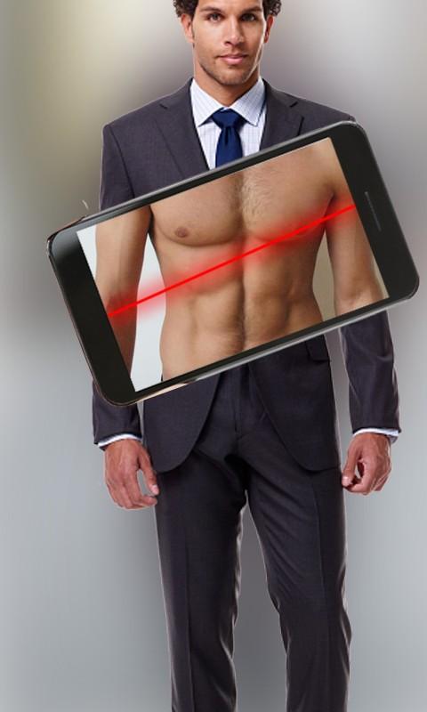 Body Scanner Xray New Girl Cloth Scanner Prank