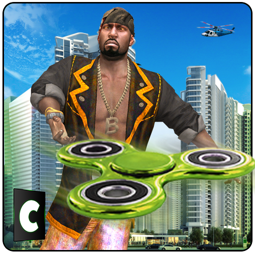 Fidget Spinner Gangster VS City Mafia