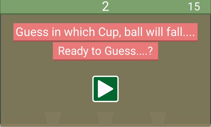 Guess The Cup