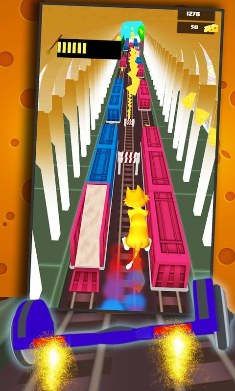 Hoverboard Subway Surfers 3D