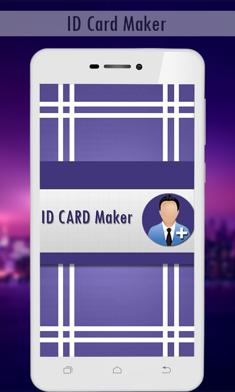 id card maker-fake id card generator