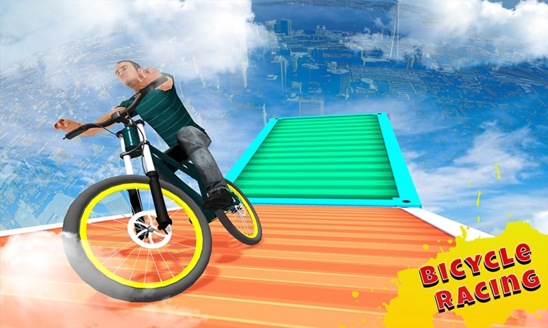 Impossible Bicycle Tracks Sim