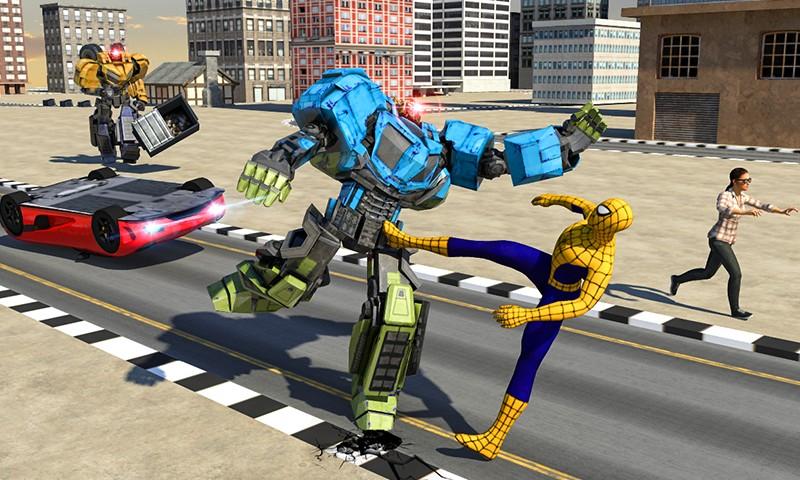 Incredible Superheroes War