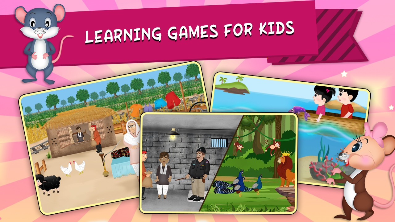 Kids Learning ABC Poems and Rhymes