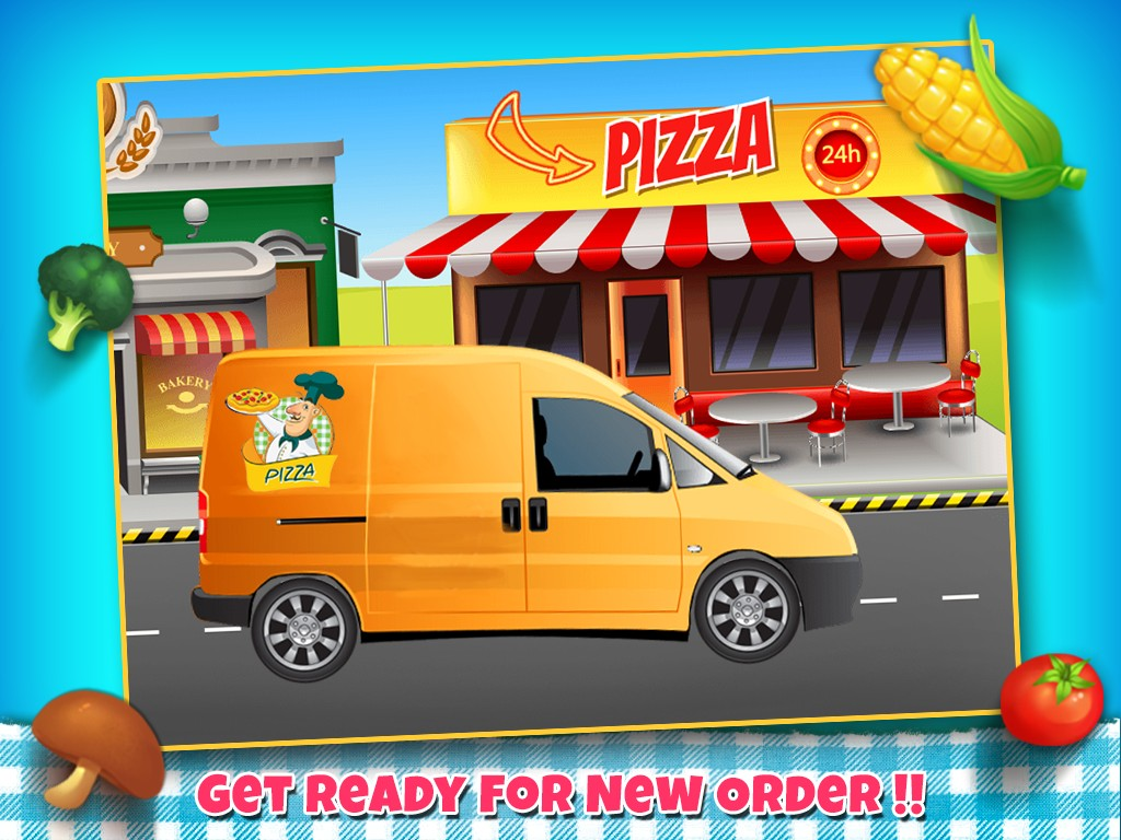 Pizza Maker And Delivery Shop
