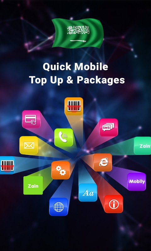 Quick Mobile Topup & Packages - Saudi Arabia