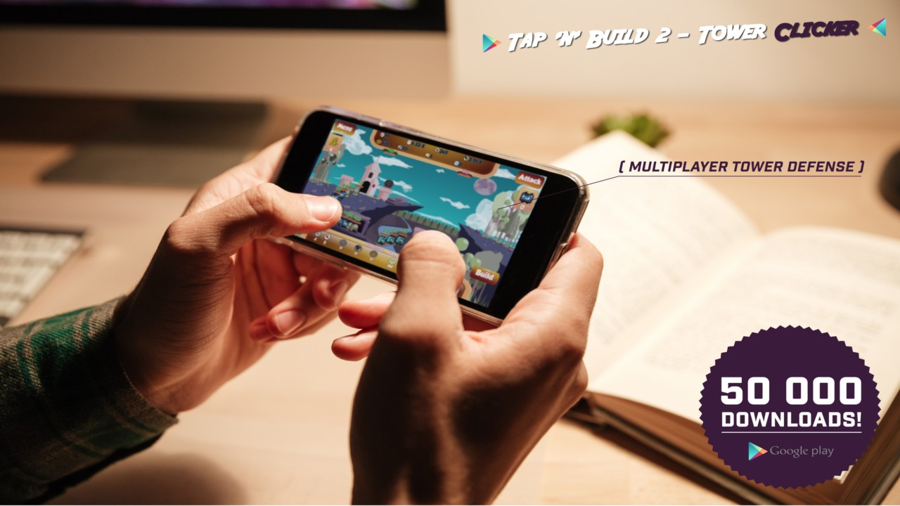 Tap 'n' Build 2 - Minion Tower Defense Clicker