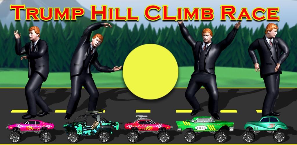 Trump Hill Climb Race Hillary