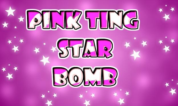 Pink Ting Star Bomb