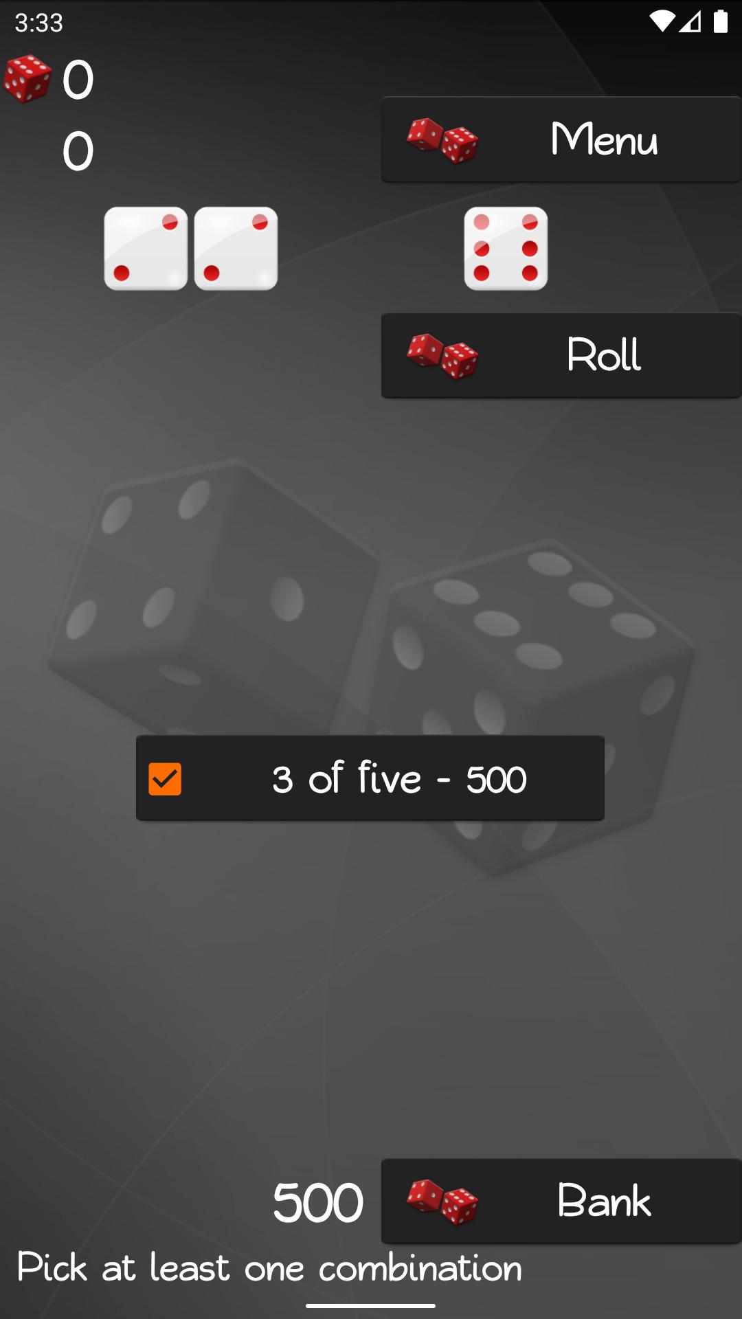 Dice Game 10k