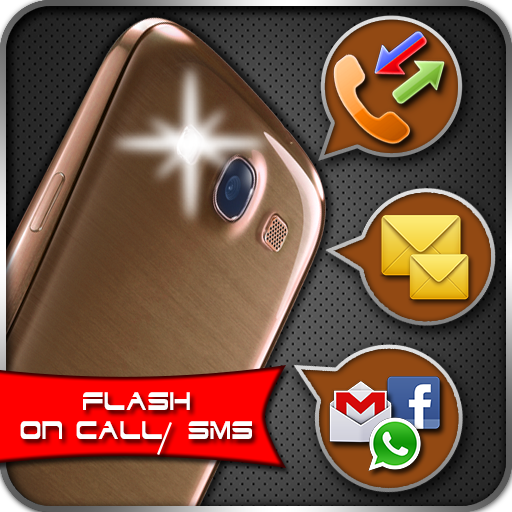 Flashlight Alert on Call / SMS