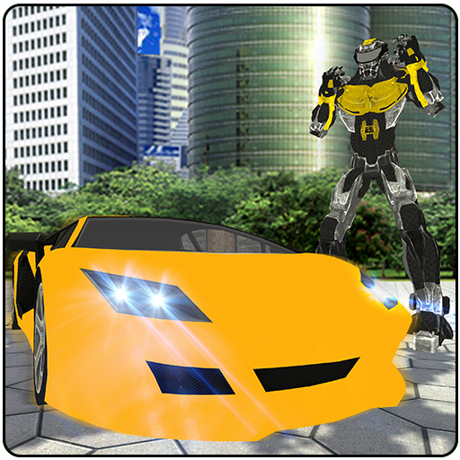 Flying Ninja Warrior Robot Transform