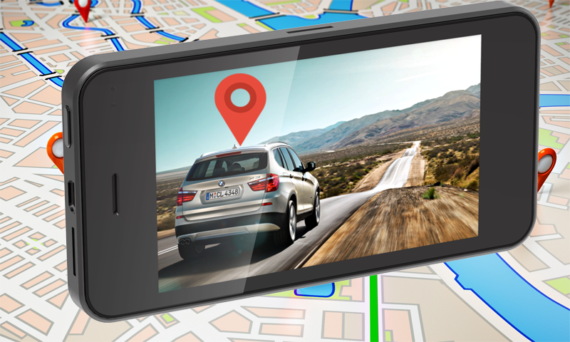 Gps navigation map route finder location tracker
