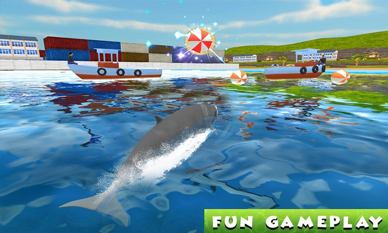 Hungry Blue Whale Attack Simulator