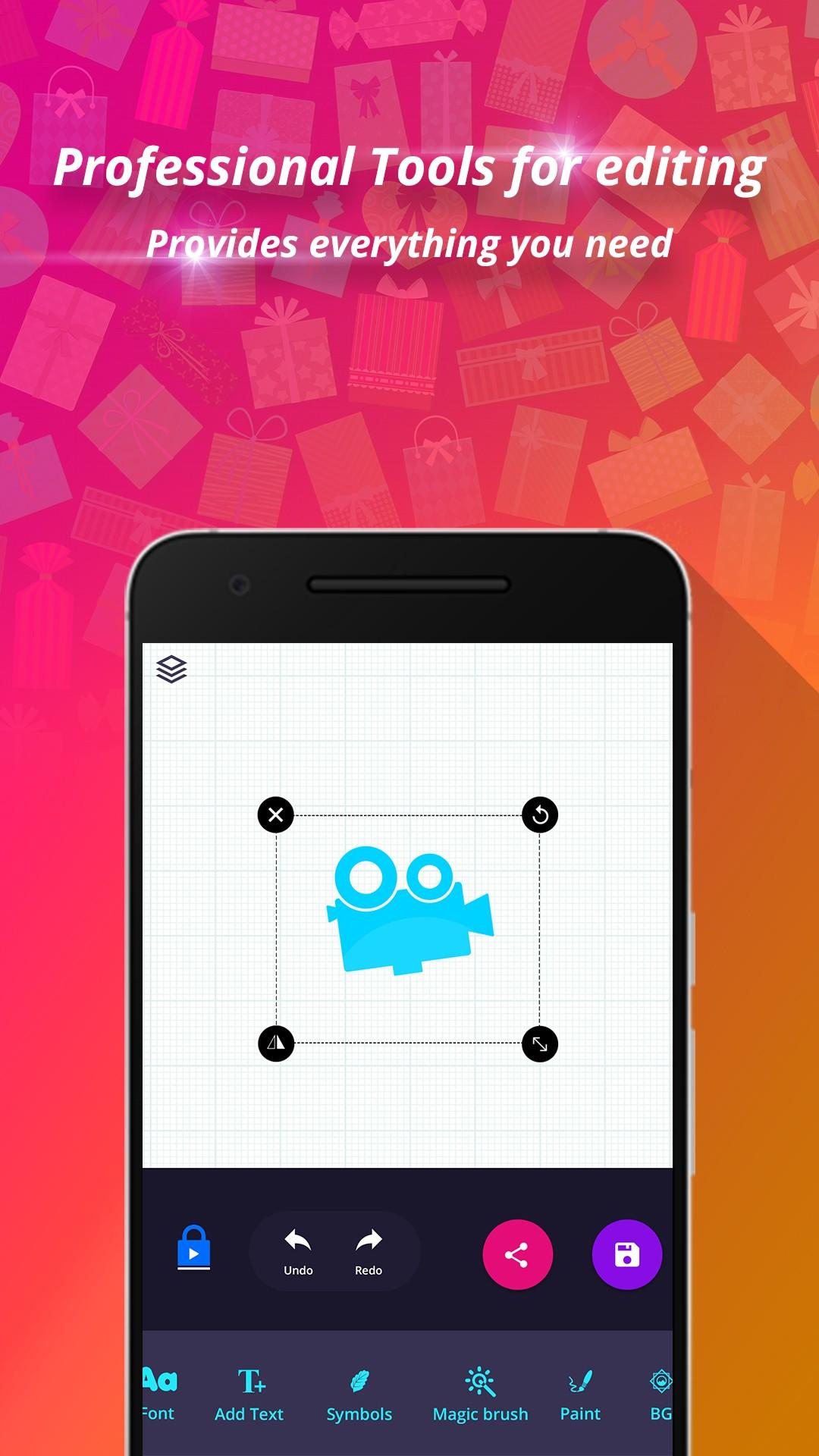 Logo maker logo design generator for Blueprint maker app