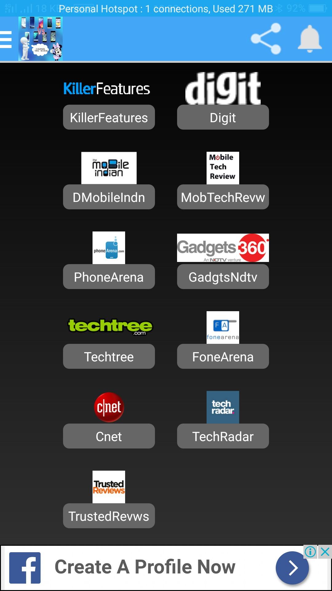 Mobile Review Adda