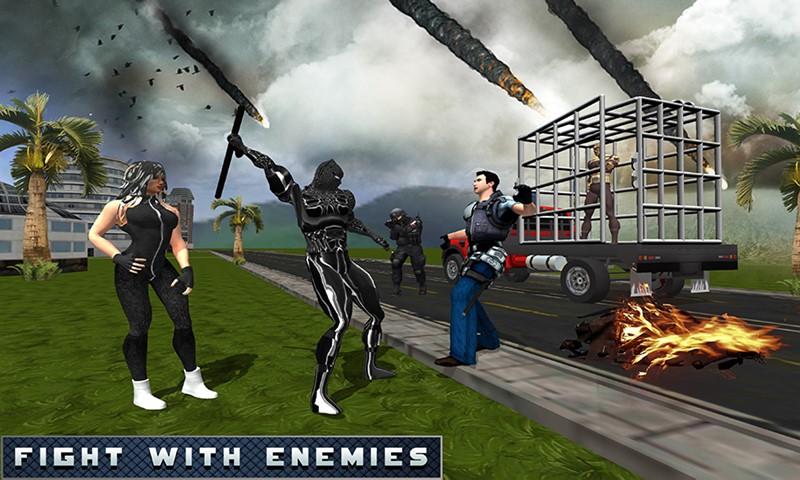 Panther Hero Escape Prison Survival