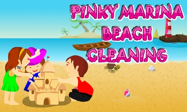 Pinky Marina Beach Cleaning