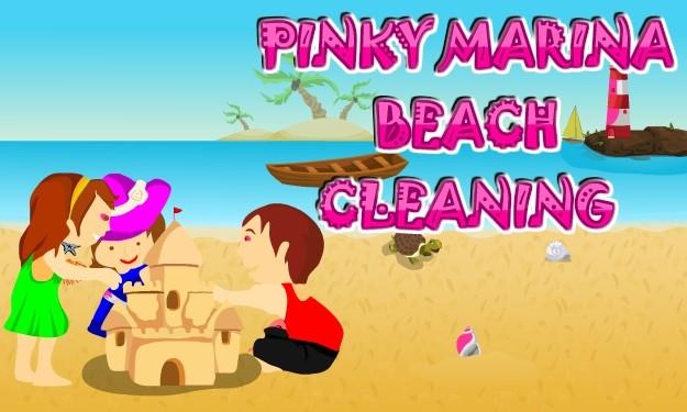 Pinky Marina Beach Cleaning