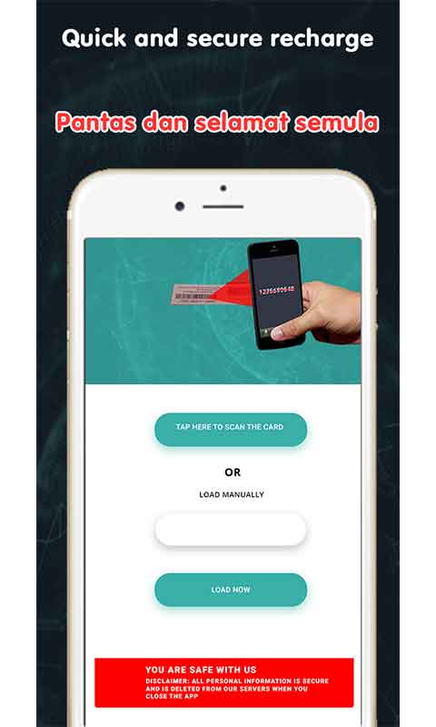 Scan to Top Up–Packages Info- Thailand