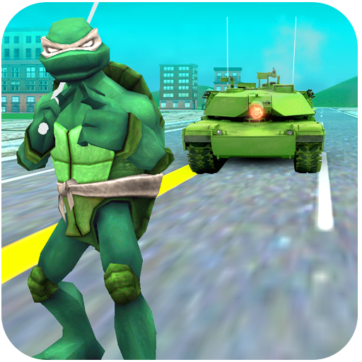 Turtle Hero Ninja Warrior: Tank Attack