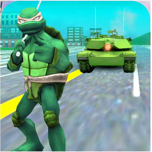 Turtle Hero Ninja Warrior: Tank Attack