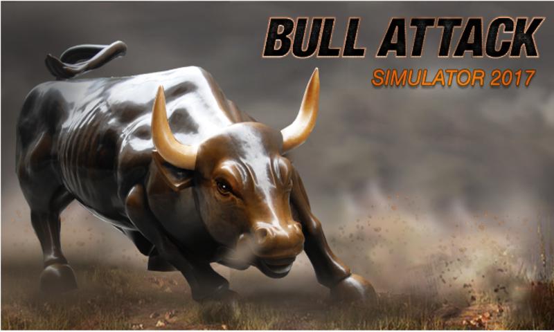 Wild Bull Simulator 3D - Angry Bull Attack Game