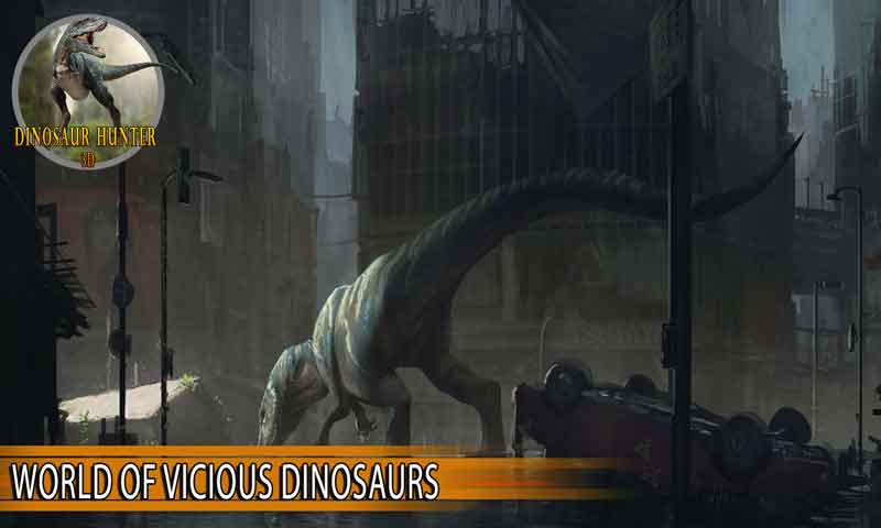 Carnivores: Dinosaur Hunter 3D City Attack
