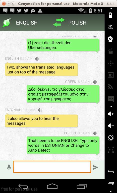 chat translator