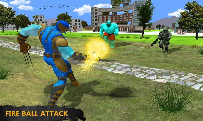 Claws Blade Hero Transform Wolf: City Battle