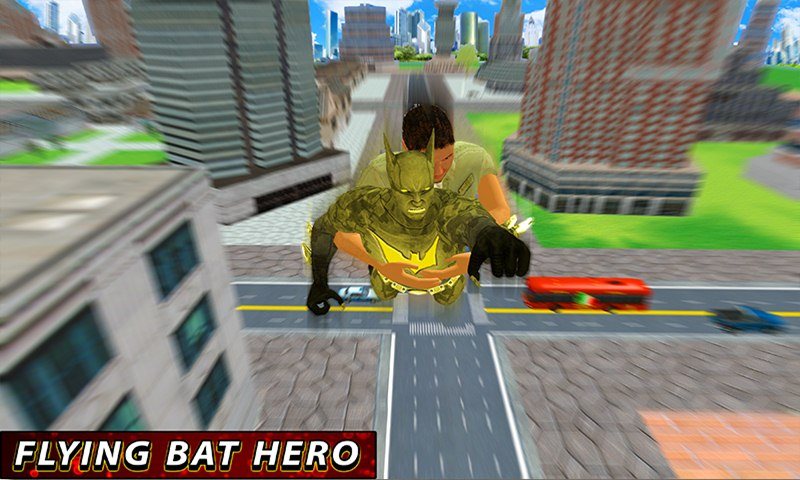 Flying Bat Hero City Rescue